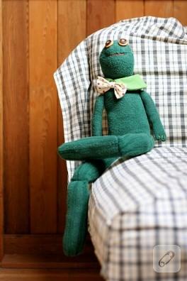 Çoraptan Kurbağa :)
