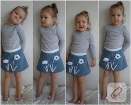 Küçük Kızlara Etek
