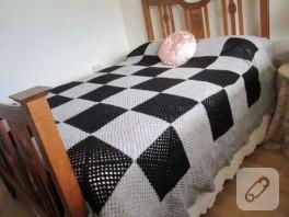 Vintage Yatak Örtüsü