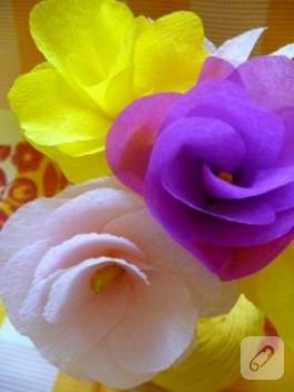 Kağıttan Harika Güller