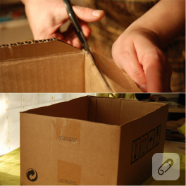 karton kutunun yeni hali