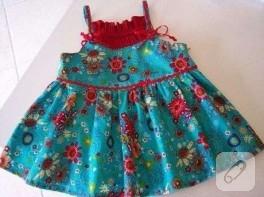 Fransız Yapımı Küçük Kız Elbisesi = )