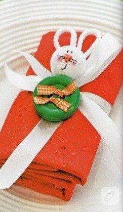 Düğmeden tavşancık