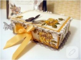 …kelebekli sarı kutu…