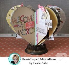 Kartondan Kalpli Mini Albüm