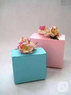 Çiçekli Kutu Yapalım