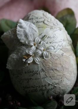 Dekupajlı Yumurta