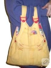 Çocuk tulumundan çanta