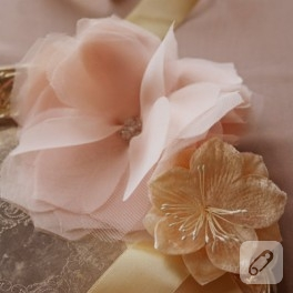 Şifon çiçekler