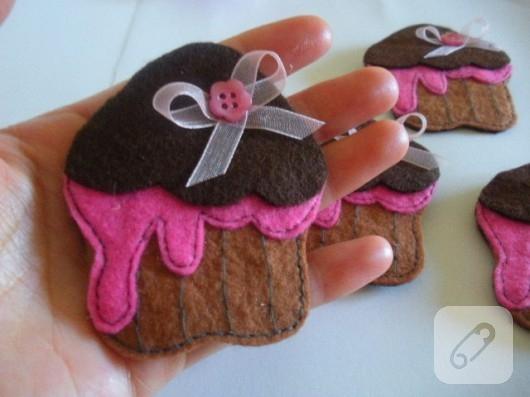 Cupcake broş