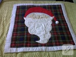 Noel Babalı Bebek Yatak Örtüsü