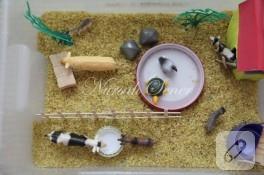 Çocuklar için duyusal havuz (çiftlik temalı)