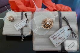 Vintage dokulu, kurabiye kokulu bayram kutuları