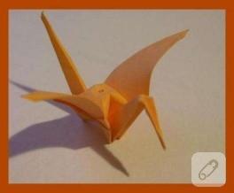 Origami Turna Kuşu