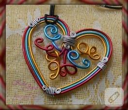 Tel kıvırma kalp…
