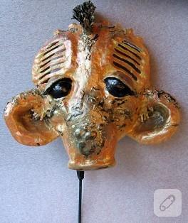 Gazeteden Maske Yapımı