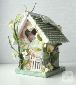 kuş evi….