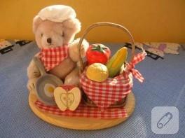 mutfakta ayı var..