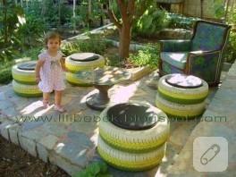 Bahçenizi kendiniz dekore edin