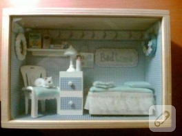 Mavi Bebek Odasi ve Cercevesi