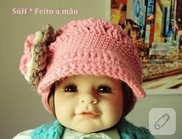 bebek şapkası dedigin;)
