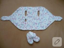 beyaz bebek takımı