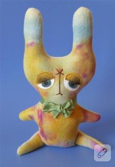 Üzgün ve süzgün tavşancık