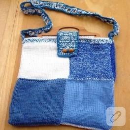 Battaniye Modeli Çanta:)))