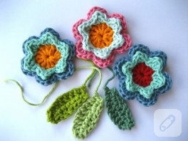 Güzel çiçek motifleri