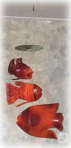 Pet şişeden sevimli balığa dönüşüm