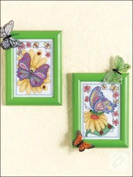 Rengarek kelebeklerle duvarlarınızı süsleyin…