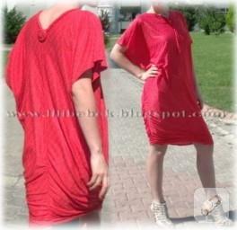 Drapeli elbise yapımı