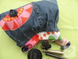 Kottan makyaj çantası