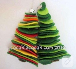Yılbaşı Ağacı Rengarenk