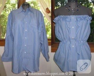 Фартуки из рубашек своими руками 30