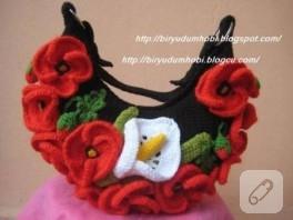 çiçek bahçesi çantam:)