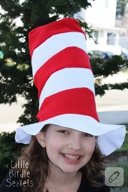 Kule gibi şapka :)