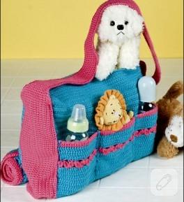 bebişlere çanta battaniye