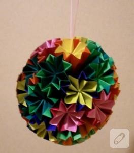 Renkli Kağıtlarla Süs