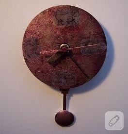 Cd ile saat yapımı