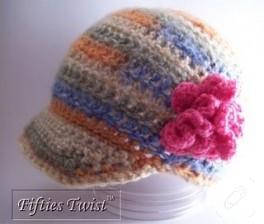 Çok şık anlatımlı kışlık şapka modeli