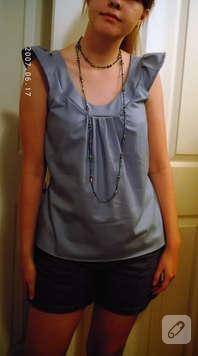 85 farklı bluz modeli :)