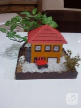 Minyatür Ev Yaptım…