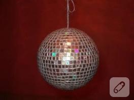 sonunda yaptım ,disco ball :)