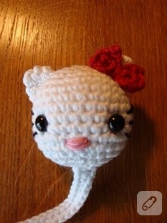 KİTAP AYRACI HELLO KITTY