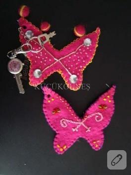bahar kelebekleri anahtarınıza konsun:)