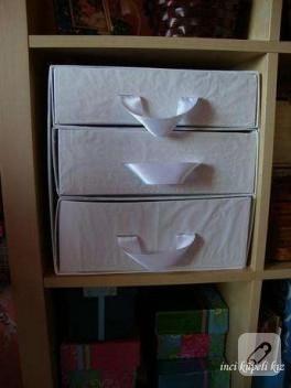 dikiş kutusu yaptım