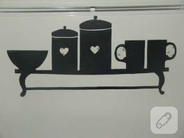 Mutfağıma yaptığım sticker