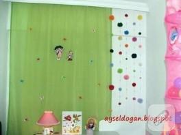 kaşif doralı çocuk odası perdesi