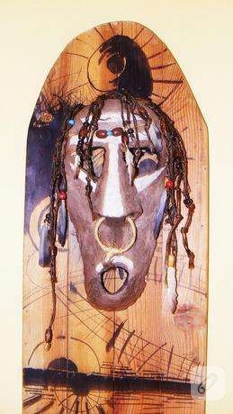 Afrika Maskı Yapımı…